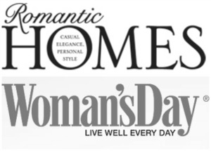 Featured in Romantic Homes and Woman's Day Magazine - Girl in the Garage