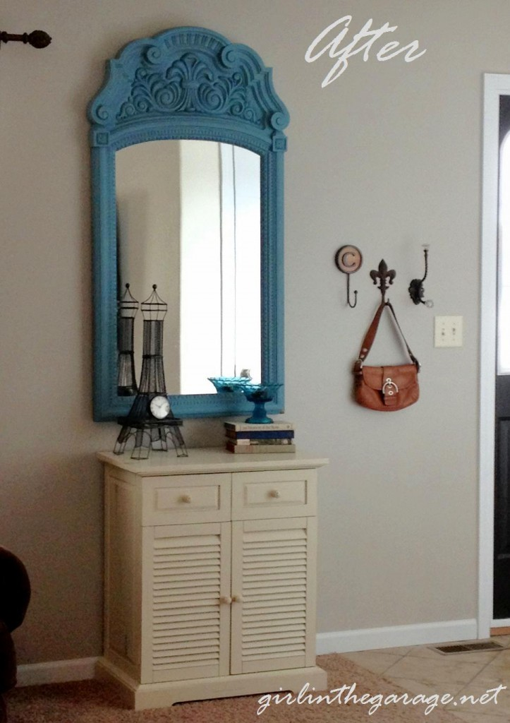 """Living room entryway """"After"""" - Girl in the Garage"""