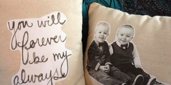 Boys Pillow by Girl in the Garage