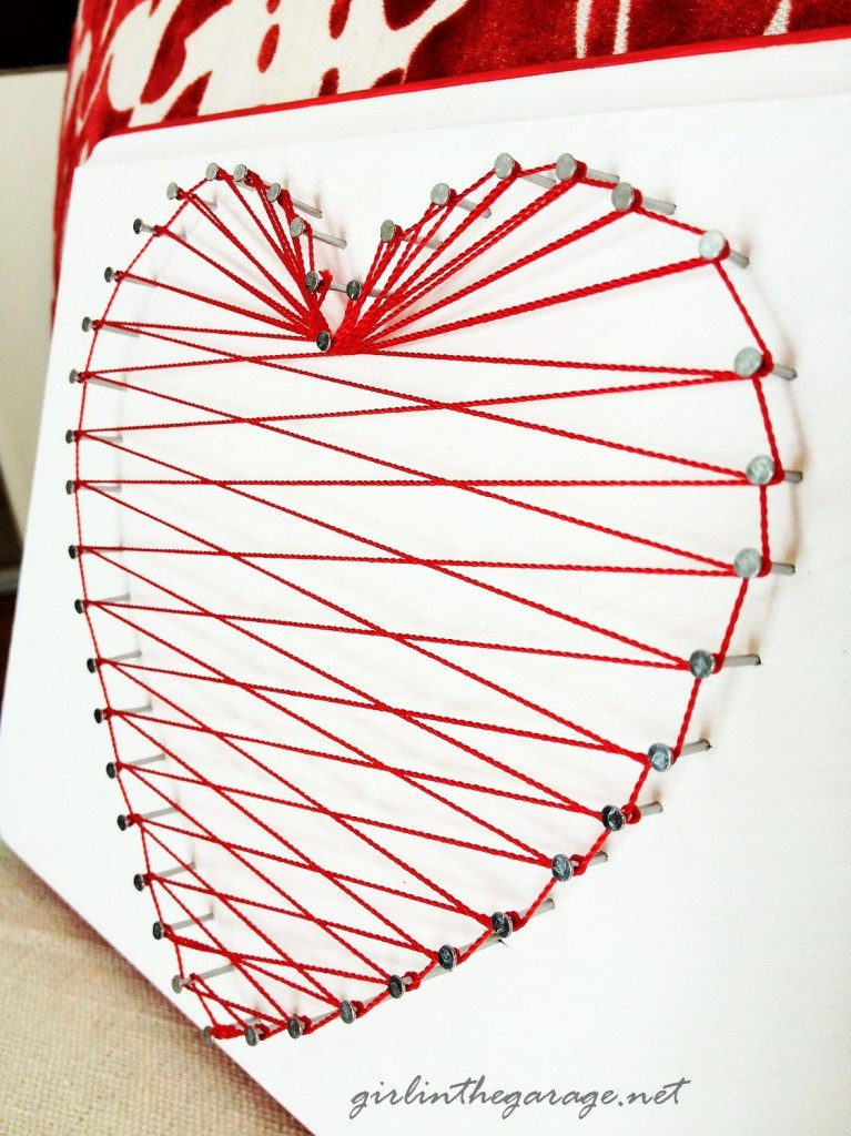 Heart String side view by Girl in the Garage