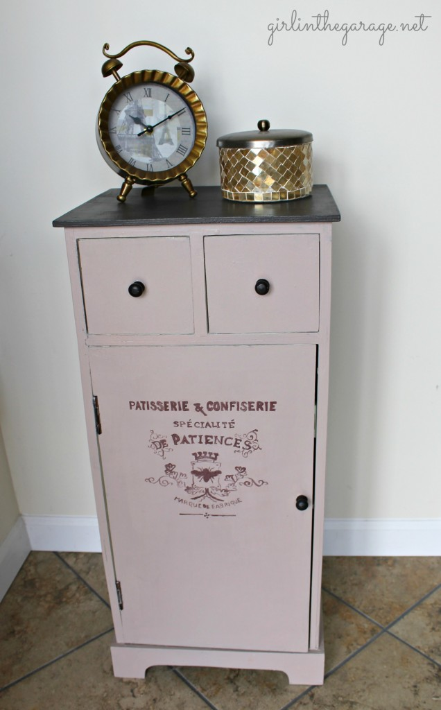 French graphic cabinet by Girl in the Garage