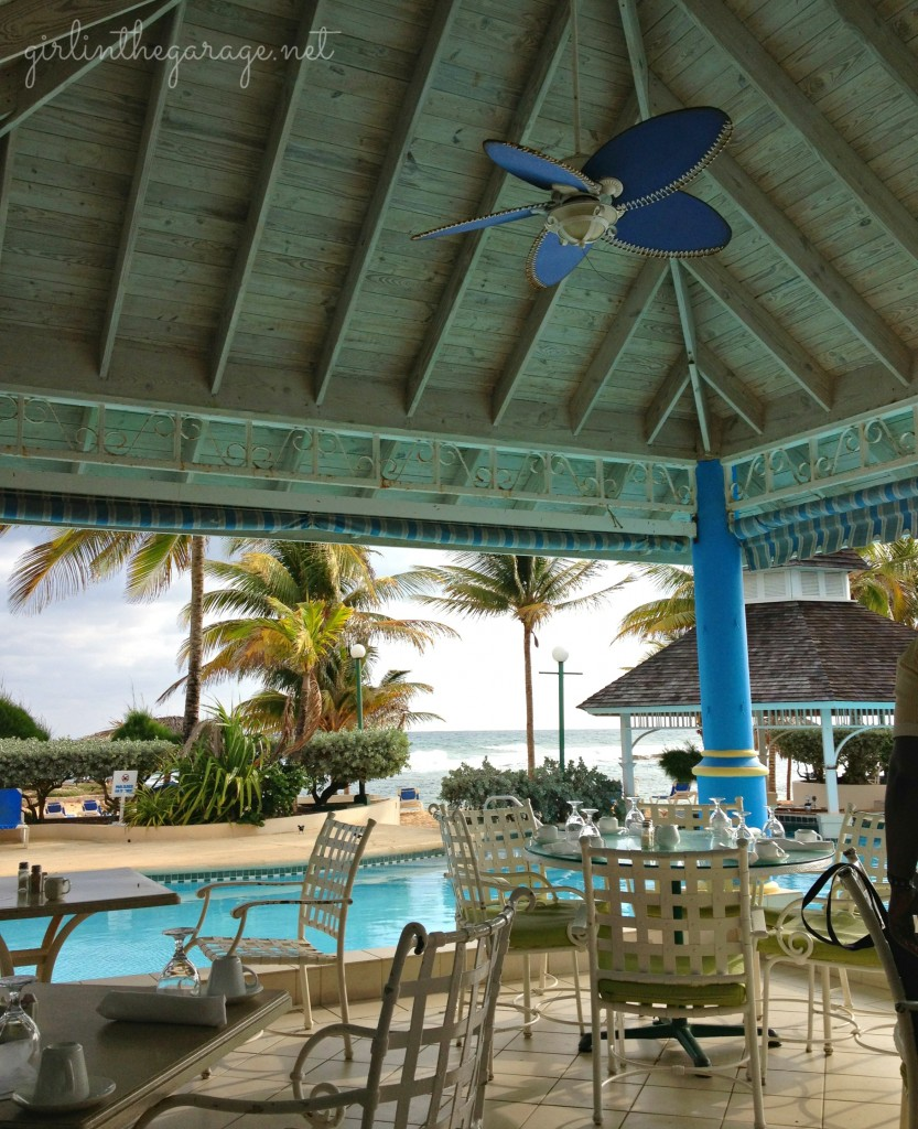 View from main eating area in Jamaica - Girl in the Garage