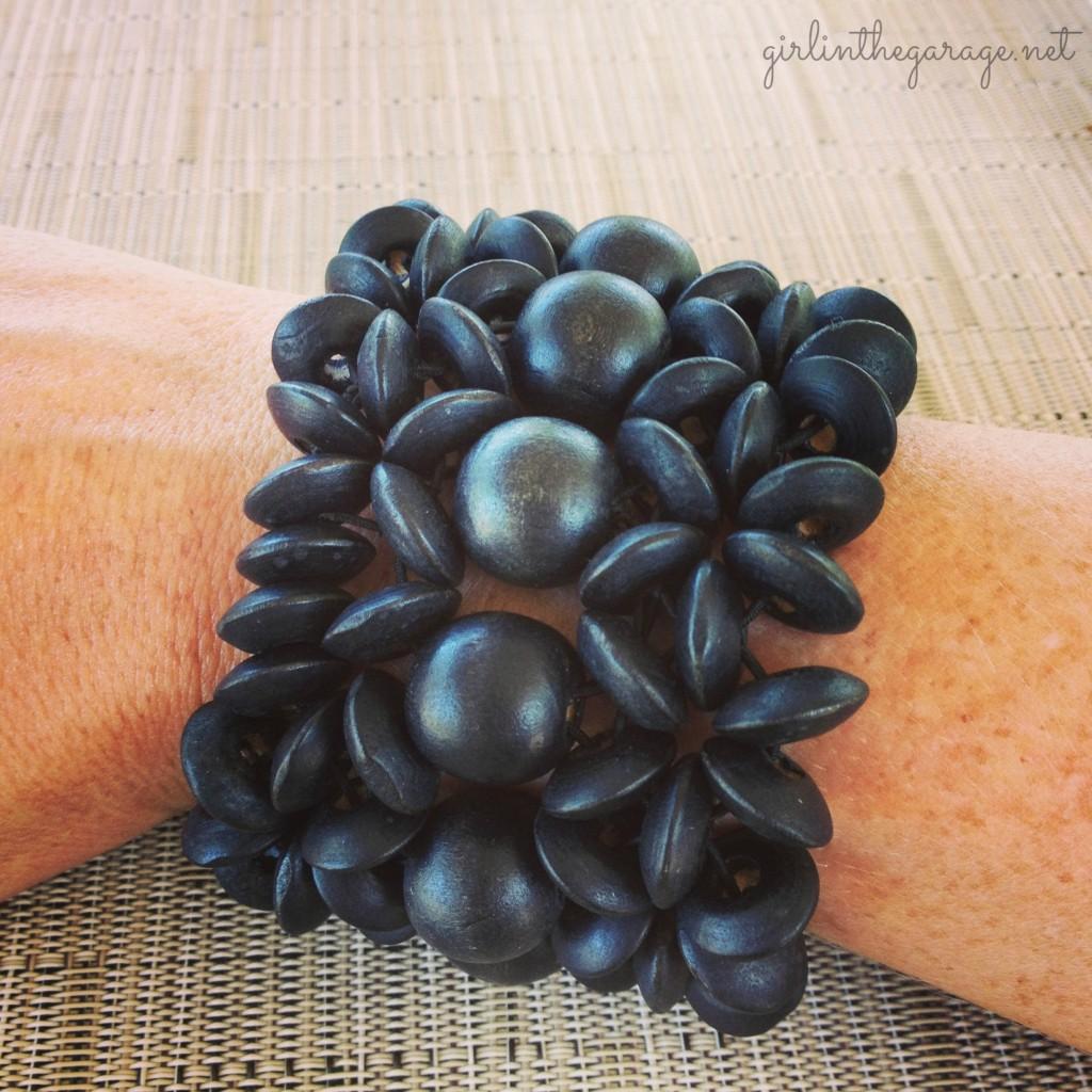 Bracelet I bought in Jamaica - Girl in the Garage