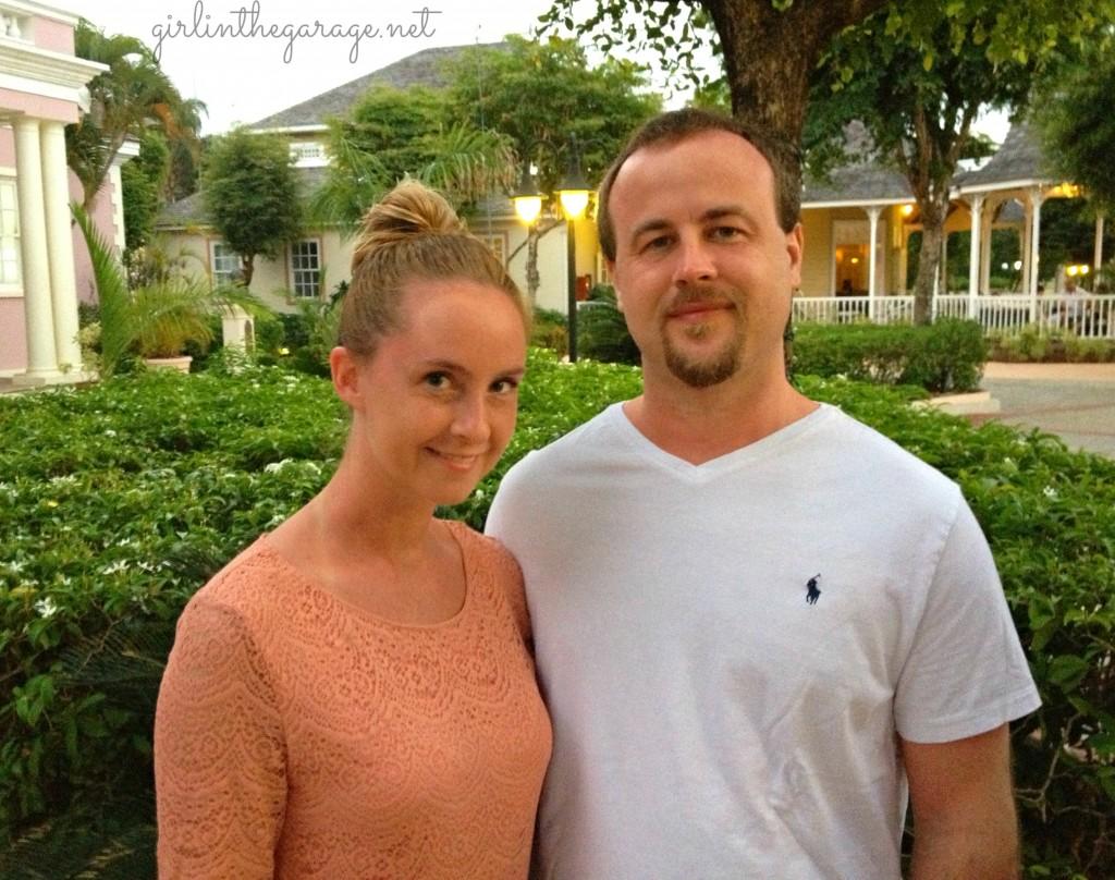 Jen & Scott in Jamaica - Girl in the Garage