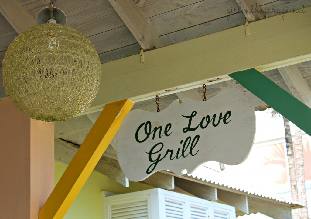 One Love Grill in Jamaica - Girl in the Garage