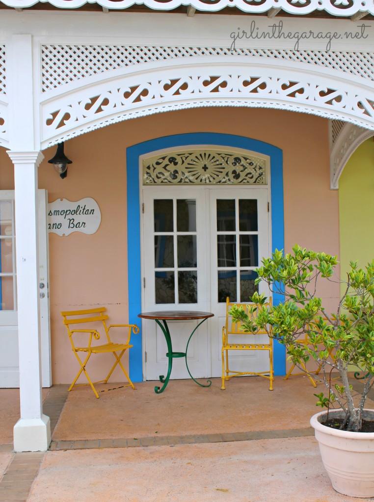 Building at Braco Village Resort in Jamaica - Girl in the Garage
