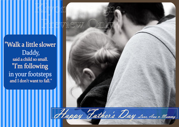 Fathers Day 8x10 Printable Art by Kiyomi Designs