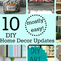 Easy Home Decor Updates Collage Feat