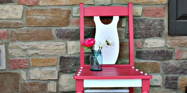 Berry Blush Chair Makeover