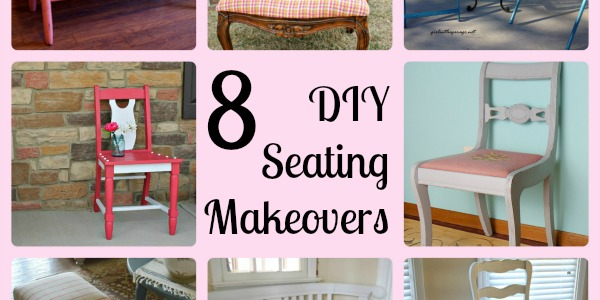 8 DIY Seating Makeovers | Girl in the Garage®