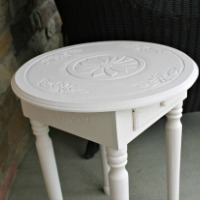 Pretty in Pale Pink …and how NOT to fix a wobbly table leg
