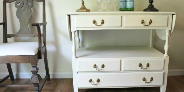 Midcentury Buffet Gets a Classy Makeover