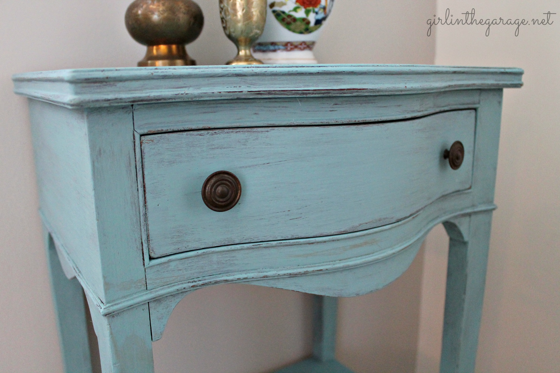 Chalk Paint Antique Desk