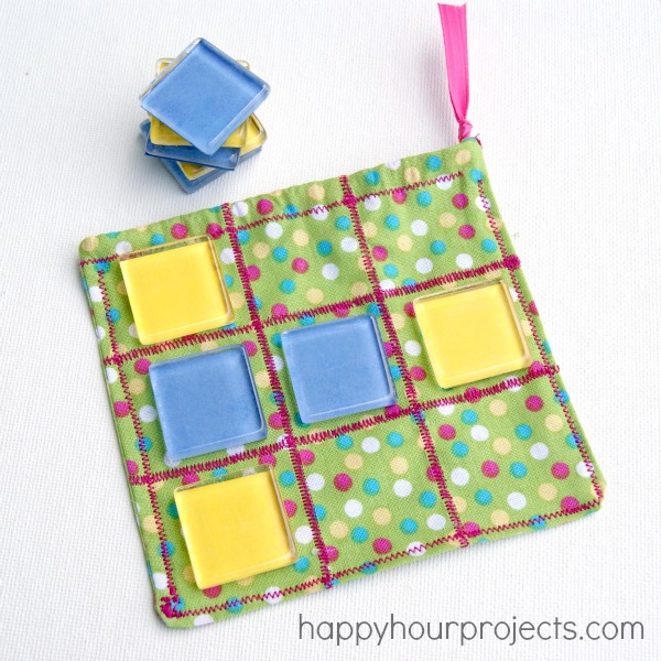 On-The-Go Tic Tac Toe Game by Happy Hour Projects