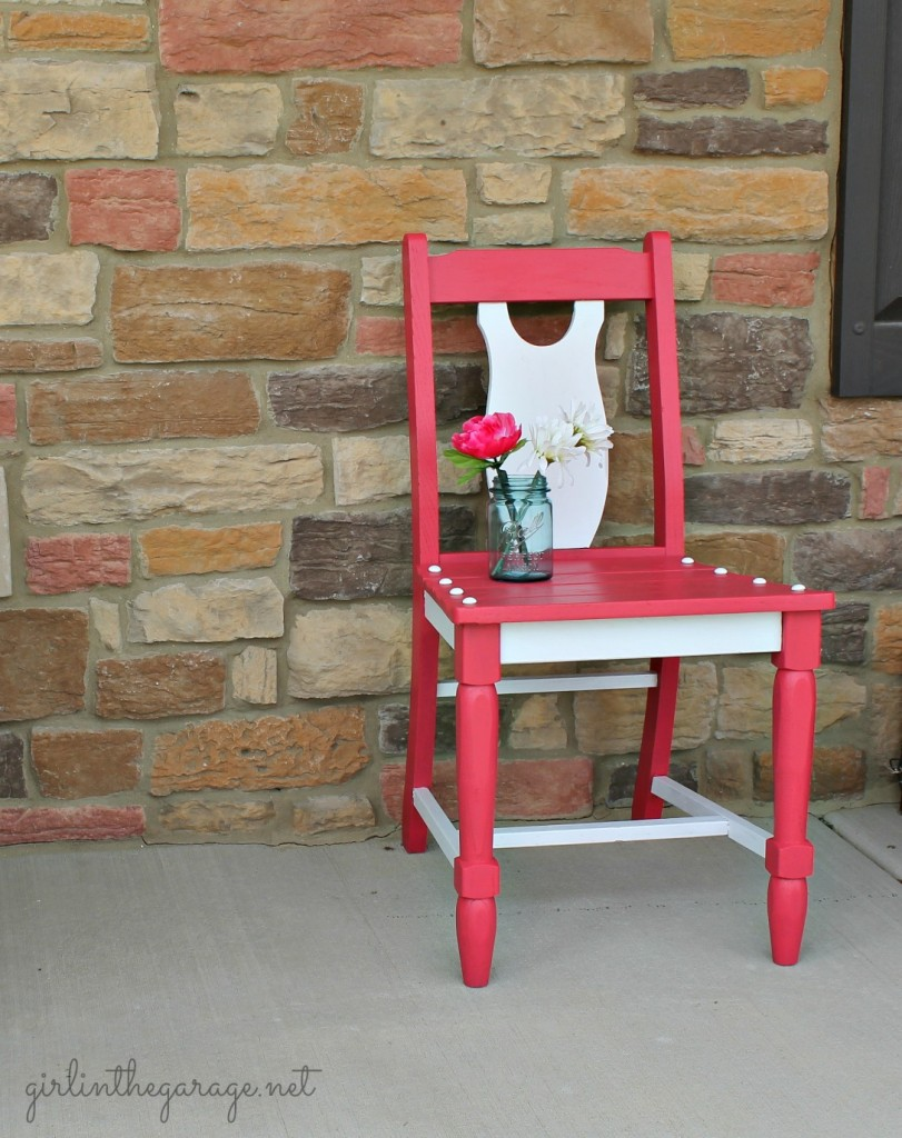 Berry Blush Chair by Girl in the Garage