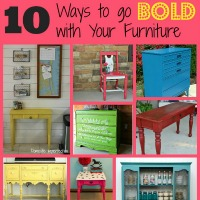10 Ways to go BOLD with your Furniture