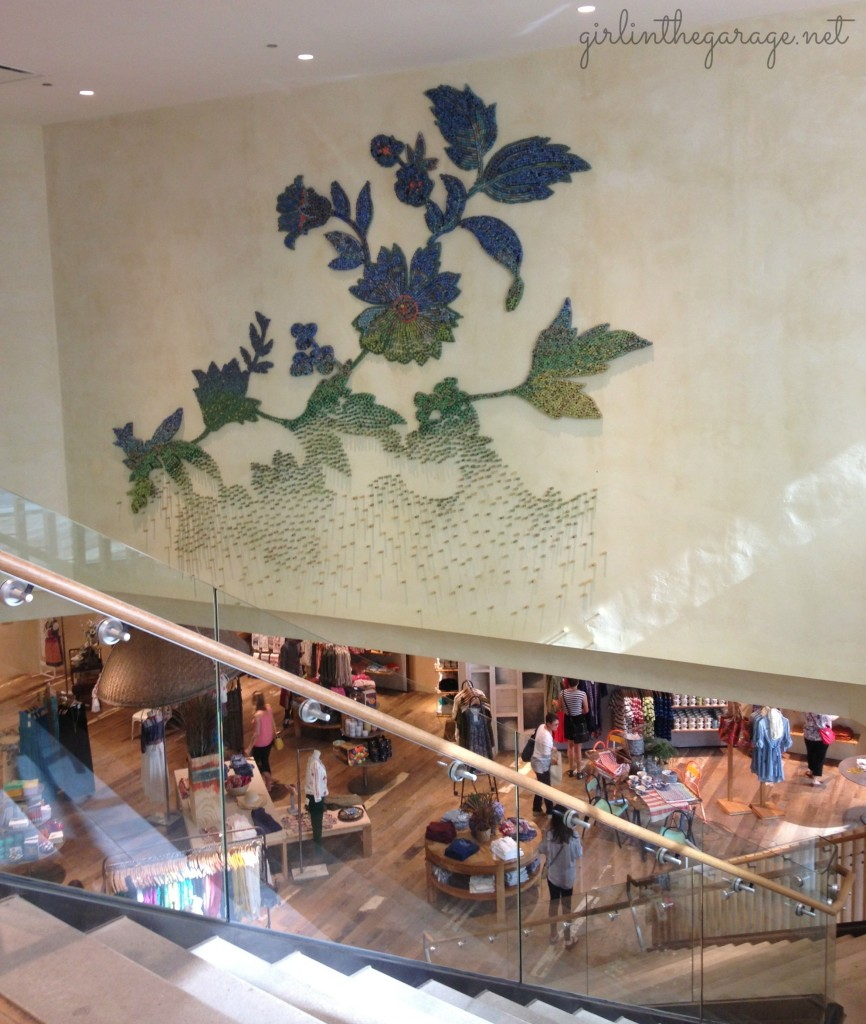 Inspired by Anthropologie - State Street in Chicago.