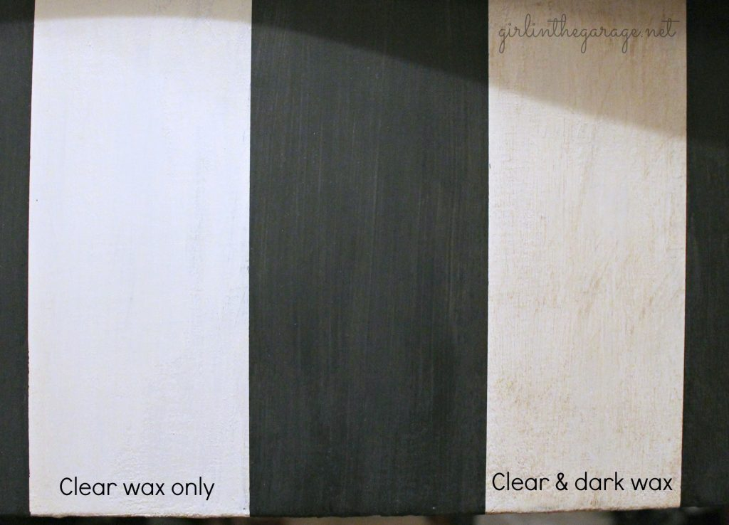 Vanity makeover & a review of Chalk Paint® decorative paint by Annie Sloan. Also how to use clear and dark wax on furniture. Girl in the Garage