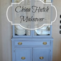 China Hutch Makeover – Guest Post from Lilacs & Longhorns