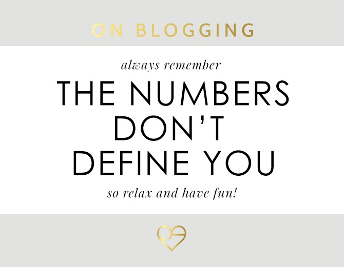 The Numbers Don't Define You