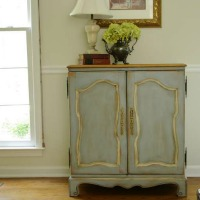 Vintage Cabinet Makeover – Guest Post from Storywood Designs
