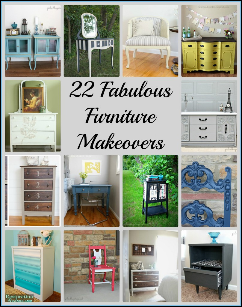 22 Fabulous Furniture Makeovers  Girl in the Garage
