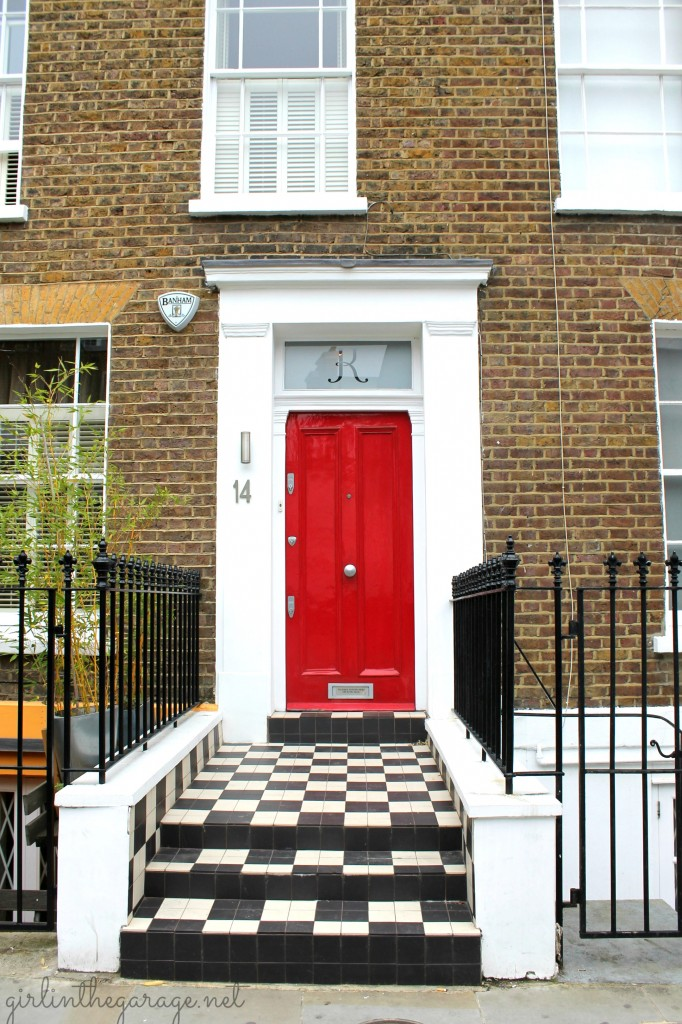 House Blue Front Door Notting Hill Notting Hill London The Fox She