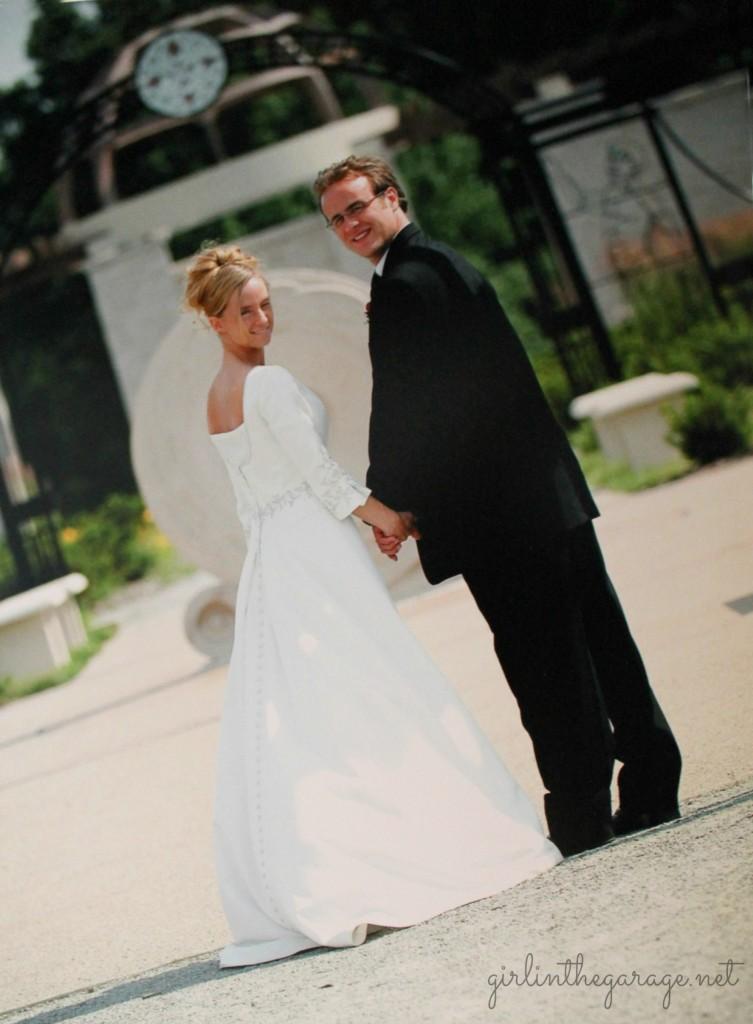 Why i bought a pre worn wedding dress bca girl in the for Pre worn wedding dresses