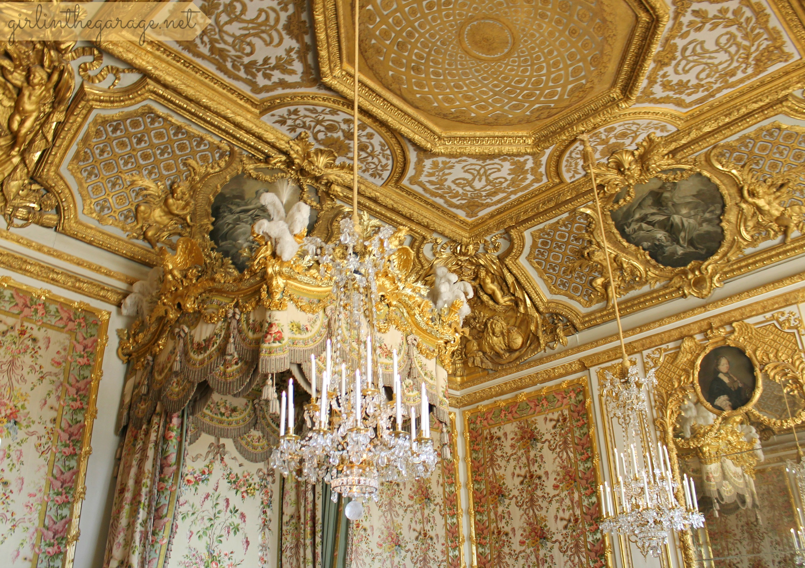 Excellent Img 1287 Versailles Marie Antoinette Bedroom Girl In The Interior Design Ideas Apansoteloinfo