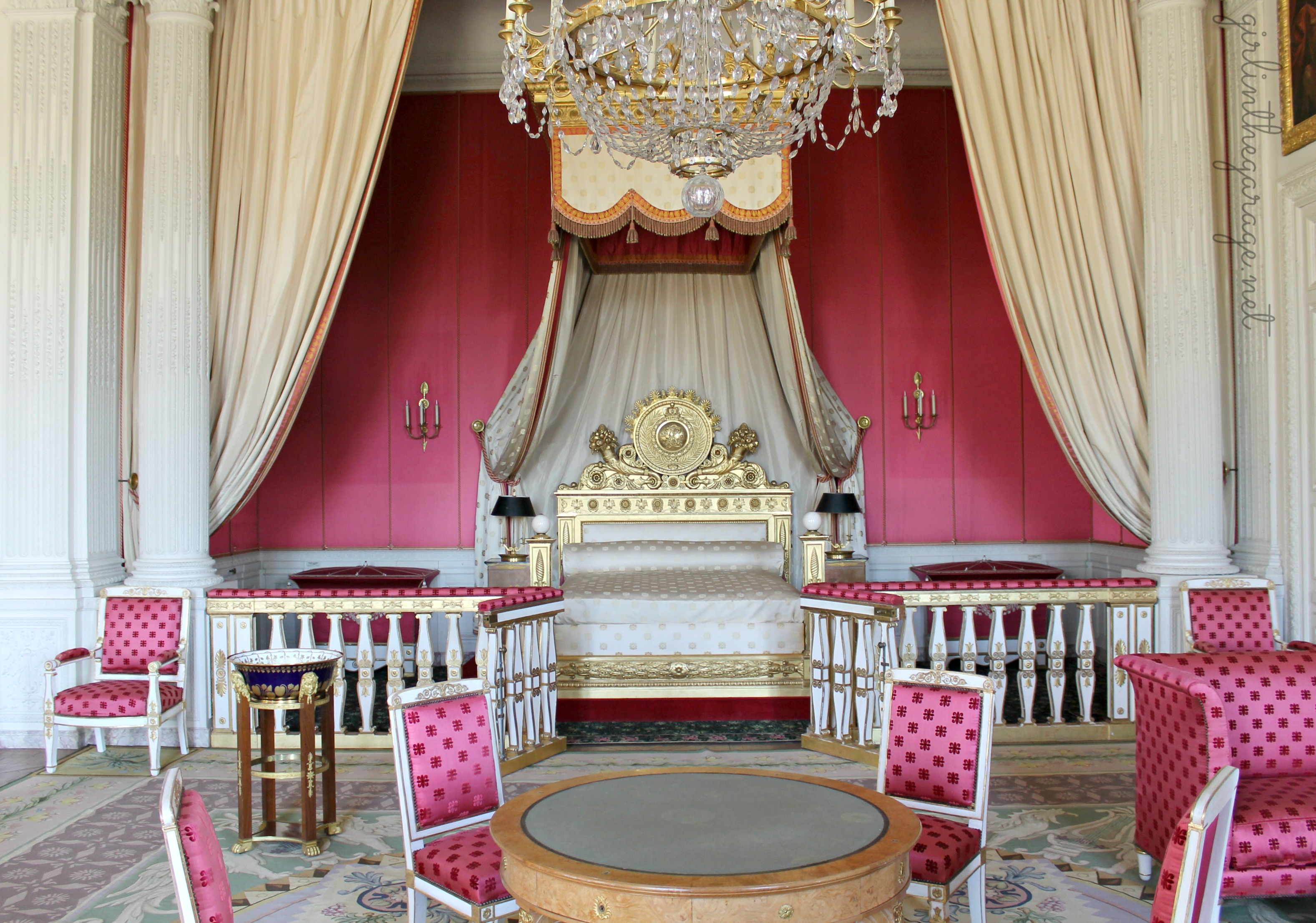 Marie Antoinette Inspired Bedroom The Palace Of Versailles Girl In The Garage