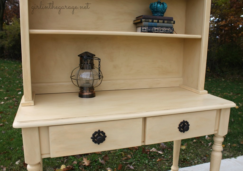 Hutch Love And How To Give Furniture An Aged Look Girl In The Garage
