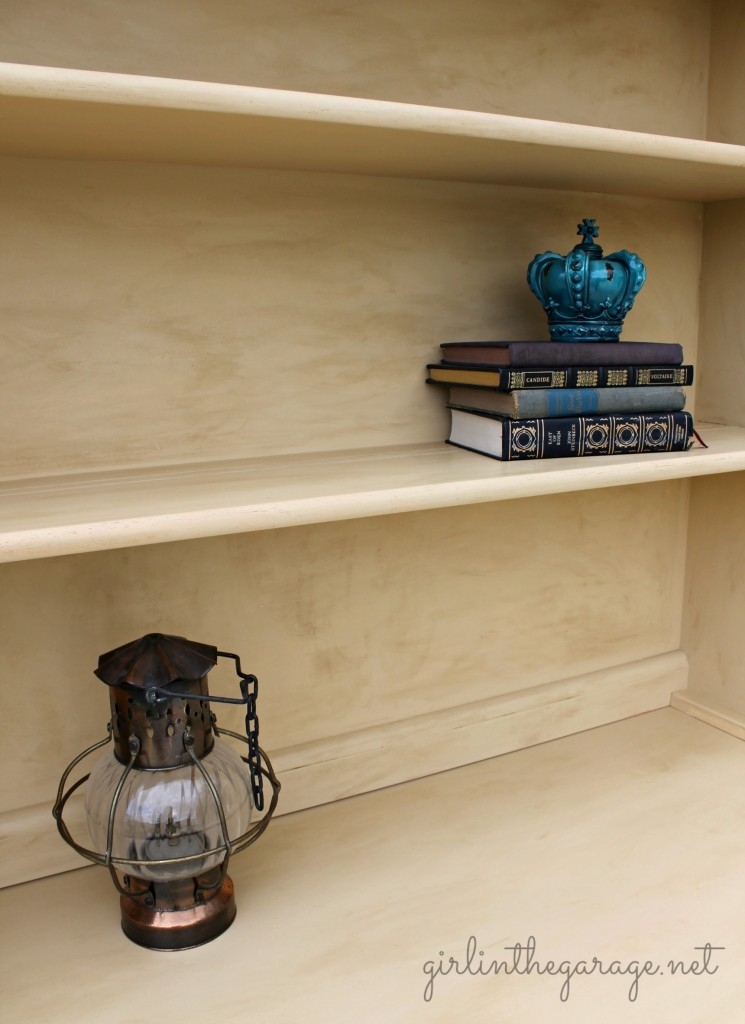 Hutch Love {And How to Give Furniture an Aged Look} | Girl ...