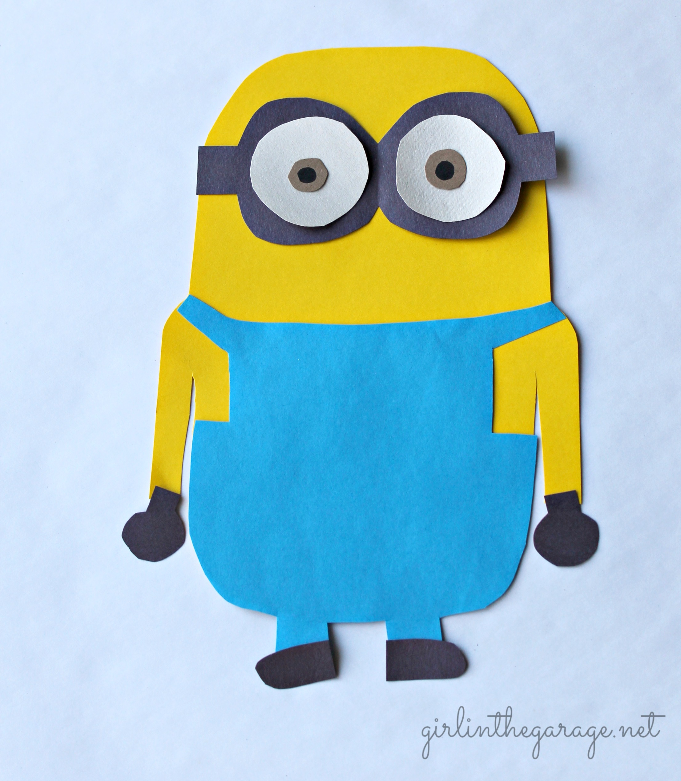 Make Your Own Minion Girl In The Garage 174