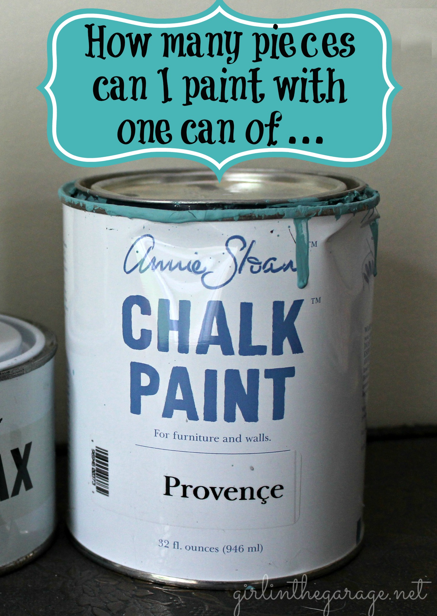 How Many Pieces Can I Paint With One Can of Annie Sloan Chalk Paint