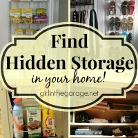 Find Hidden Storage in Your Home