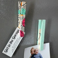 Washi Tape Clips & Magnets