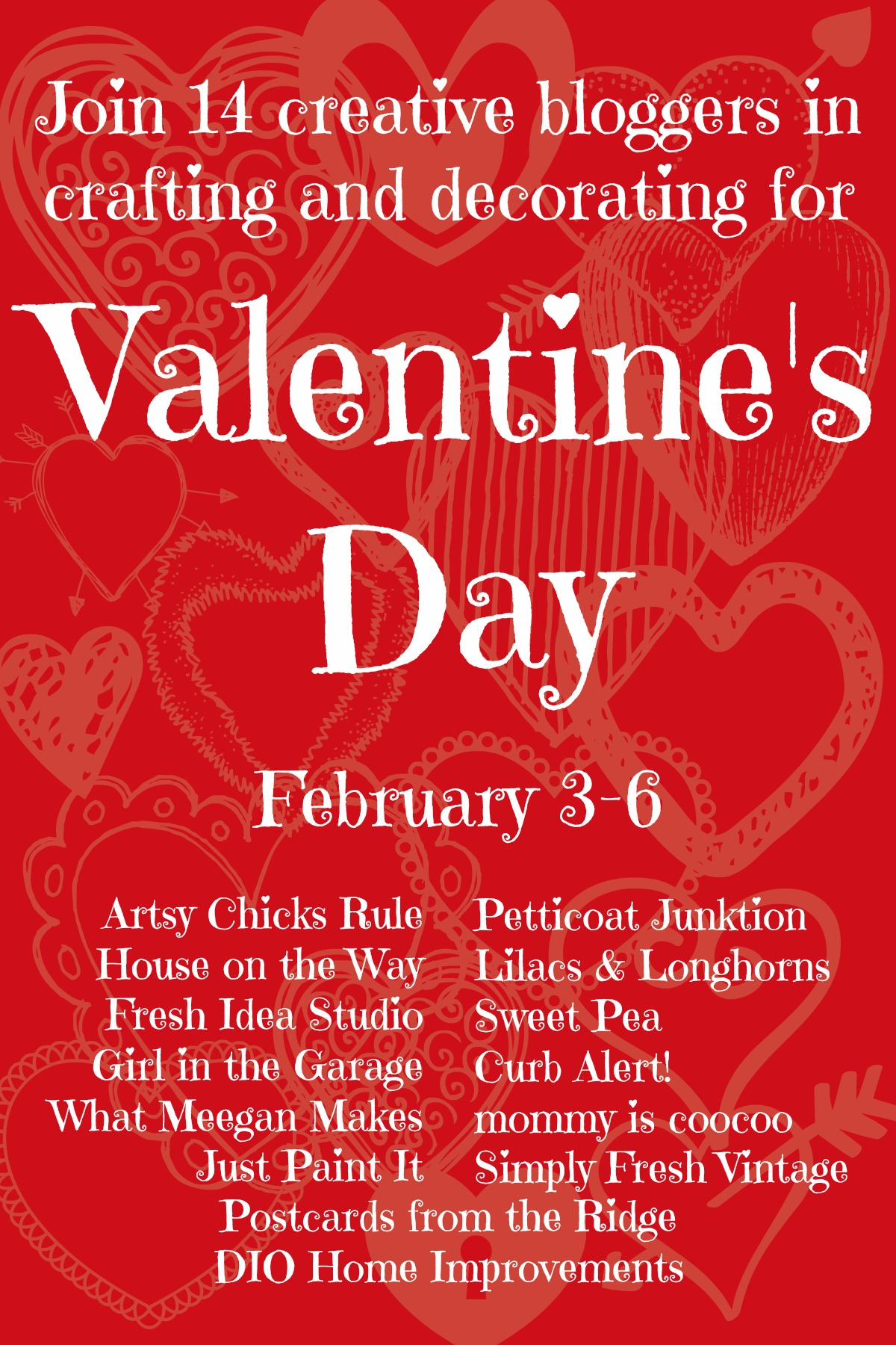valentines day tour 14 creative bloggers share their crafts and decor for the holiday of