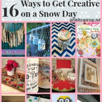 16 Ways to Get Creative on a Snow Day