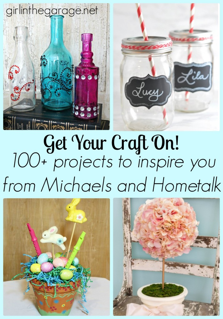 100+ Craft Projects to Inspire You (From Michaels and Hometalk) girlinthegarage.net