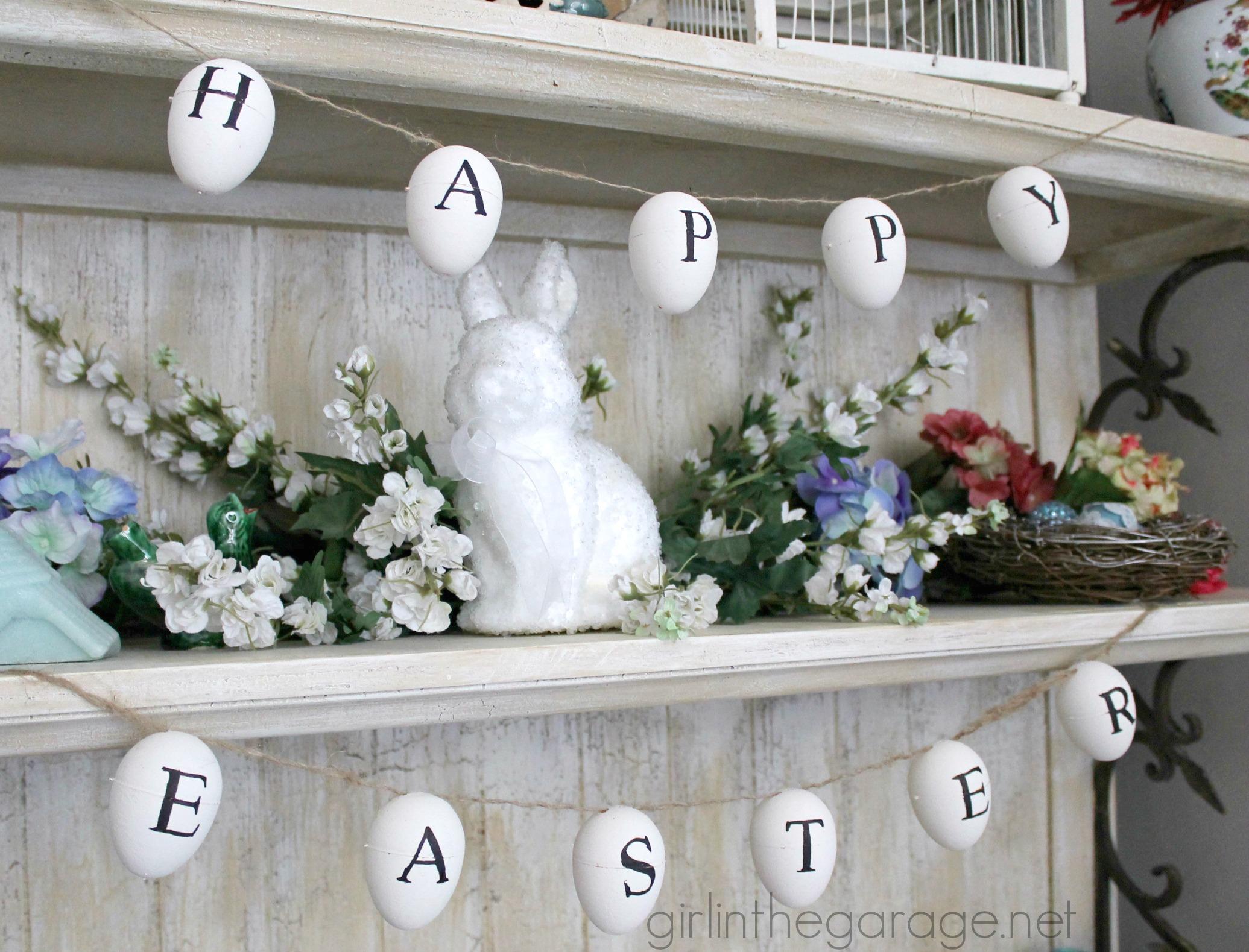 easter egg garland inspired by ballard designs easter craft and easter egg garland inspired by ballard designs easter craft and decor showcase girlinthegarage
