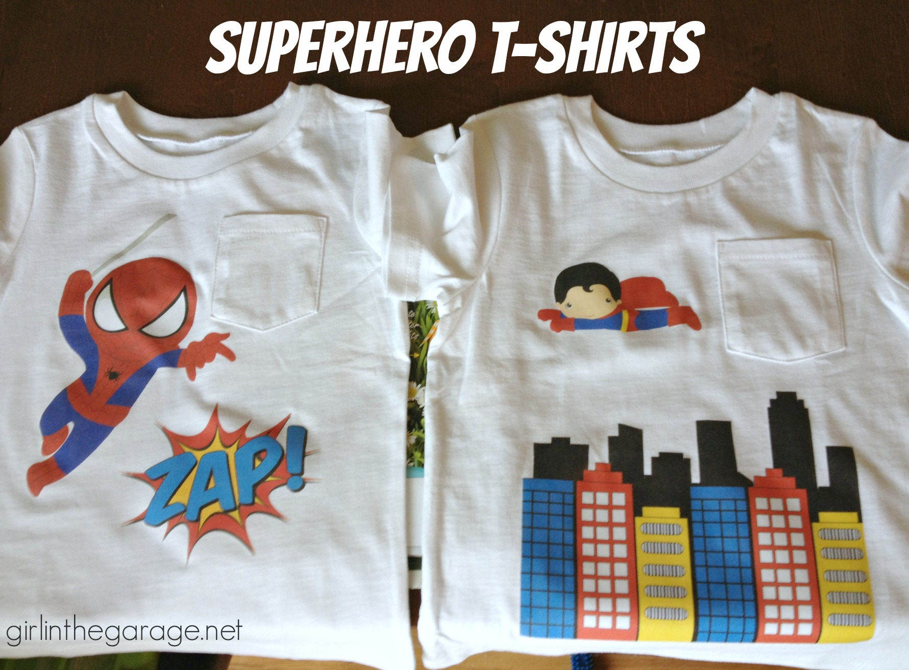 Superhero Shirt With Cape Toddler