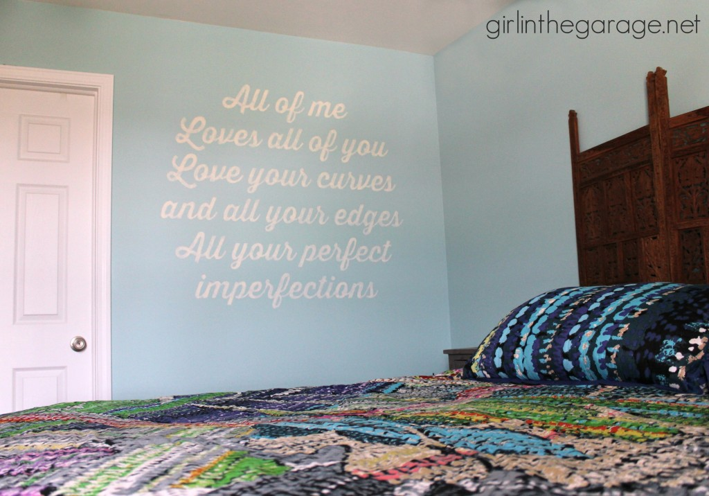 Song Lyrics Wall Art - girlinthegarage.net