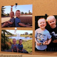 How to Hang a Photo on a Cork Board Without Poking a Hole Through It
