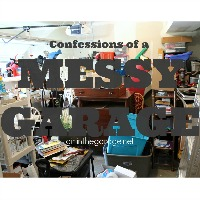 Confessions of a Messy Garage {and some organization tips!}