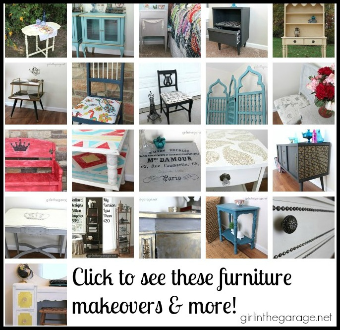 Furniture Makeovers by Girl in the Garage