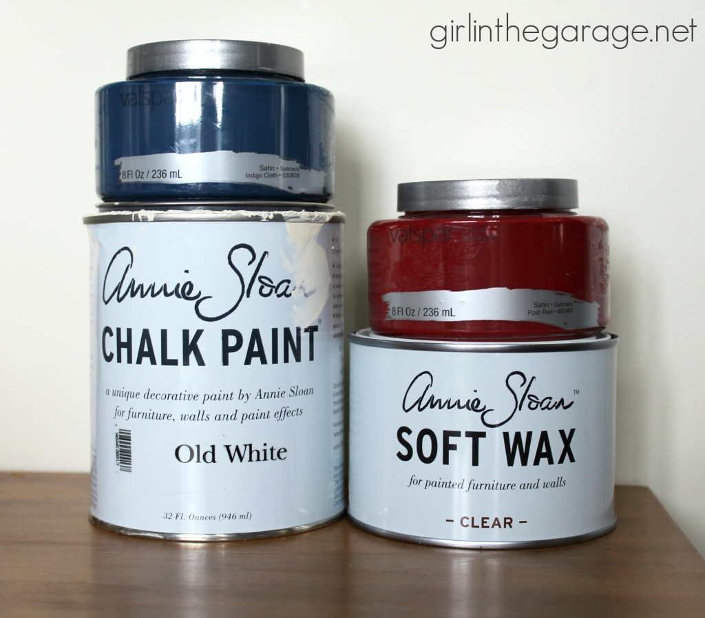 How to Chalk Paint Furniture - Epic Chalk Painting guide for beginners by Girl in the Garage