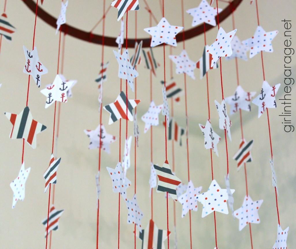 Seeing Stars: Patriotic Mobile - girlinthegarage.net