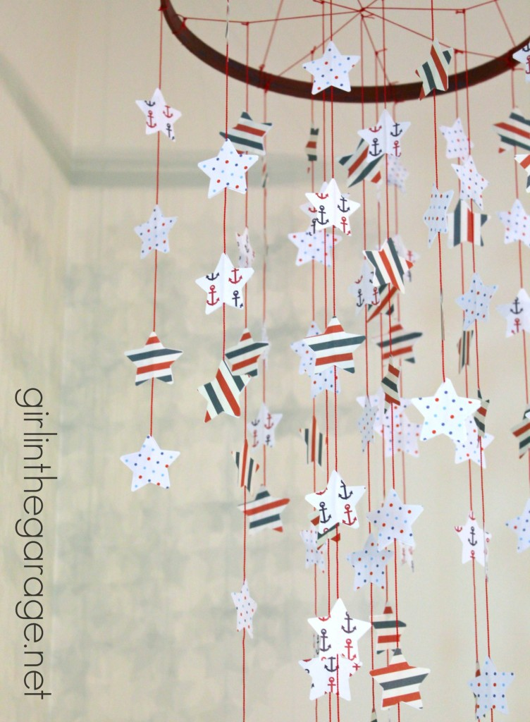 Seeing Stars: Patriotic Mobile - girlinthegarage.net