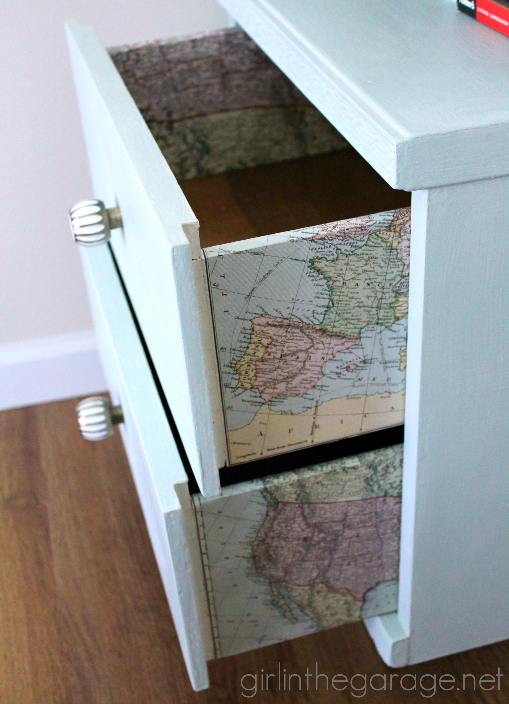 map after richmond and before drawers drawer thrifter