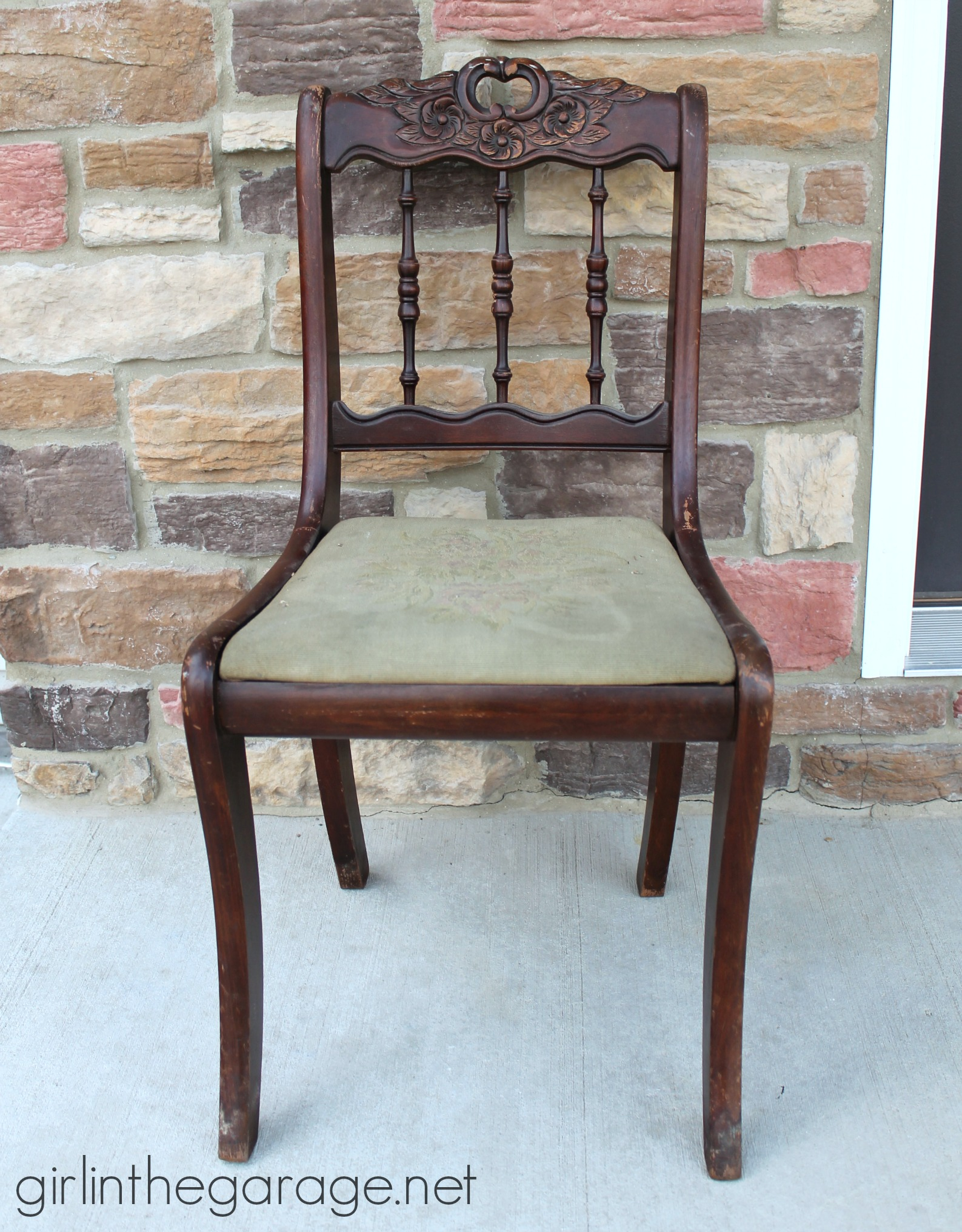 IMG_3345 Antique Wooden Chair